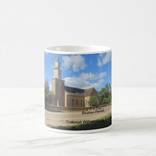 Taza de la parroquia de Bruton