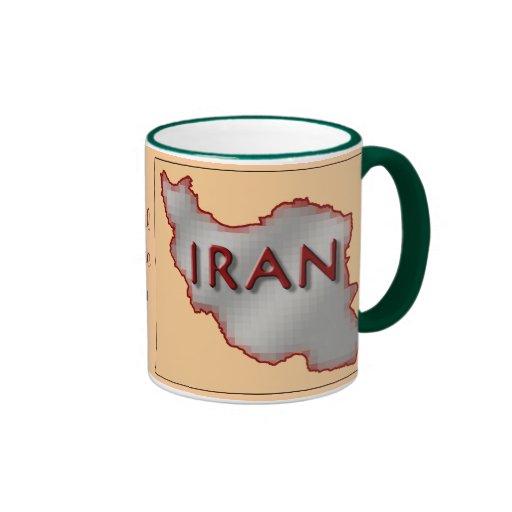 Taza de la paz de Irán