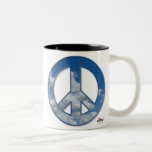Taza de la paz del cielo
