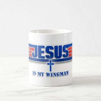 Taza de la película del Wingman del Jesucristo del