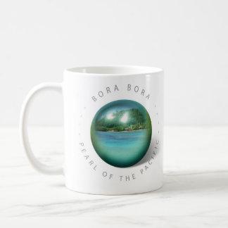 Taza de la perla de Bora Bora