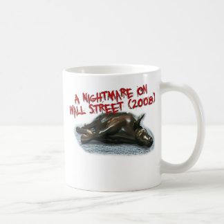 taza de la pesadilla de Wall Street