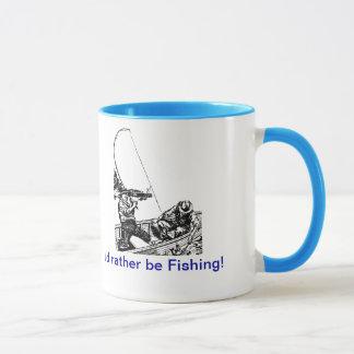 Taza de la pesca