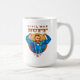 Taza de la piel de ante de la guerra civil