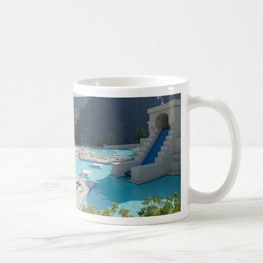 taza de la piscina