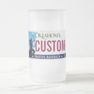 Taza de la placa de Oklahoma