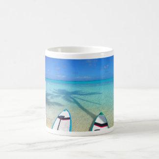 Taza de la playa de Bora Bora Matira