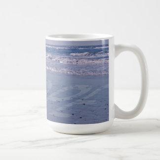 Taza de la playa de great dane