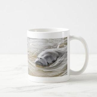 Taza de la playa de Ormond del Manatee de la