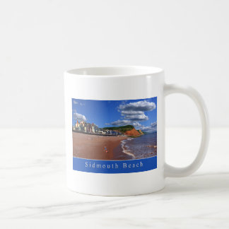 Taza de la playa de Sidmouth