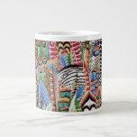 Taza de la pluma de la tela de Philip Jacobs Tazas Extra Grande