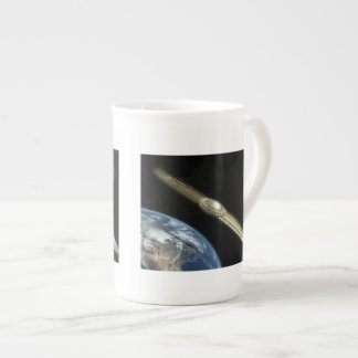 Taza de la porcelana de hueso de Anunnaki Taza De Porcelana