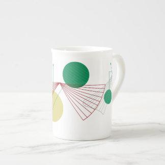 Taza de la porcelana de hueso de la FANFARRIA Taza De Porcelana