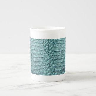 Taza de la porcelana de hueso de la nación de Gans Taza De Porcelana