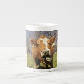 Taza de la porcelana de hueso de la vaca taza de porcelana
