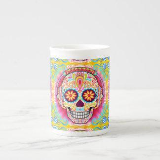 Taza de la porcelana de hueso del cráneo del taza de porcelana