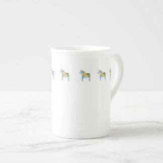 Taza de la porcelana de hueso del narciso tazas de china