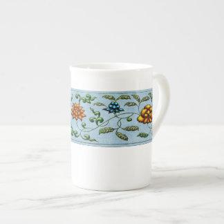Taza de la porcelana de hueso - joya asiática taza de porcelana