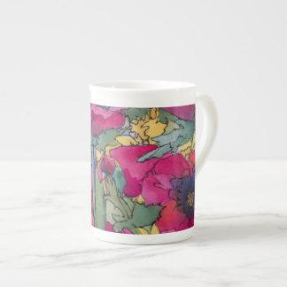 Taza de la porcelana de la edición limitada, arroy taza de porcelana