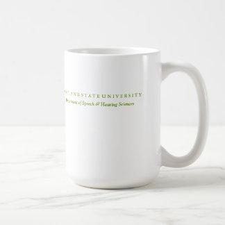 Taza de la porcelana de la fuente de alimentación