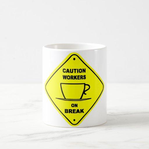 taza de la precaución