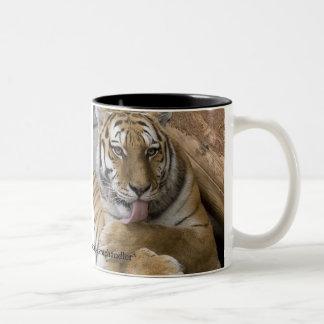 Taza de la preparación del tigre