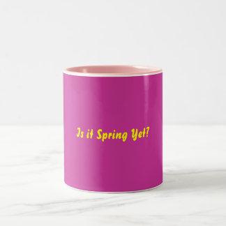 Taza de la primavera
