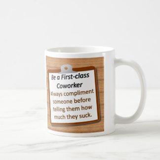 Taza de la primera clase