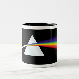 Taza de la prisma del arco iris