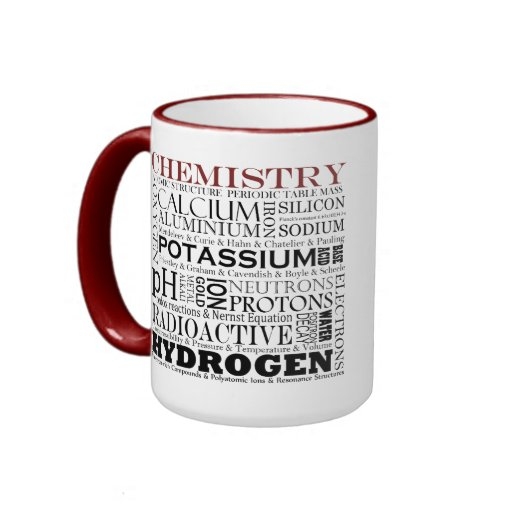 Taza de la química