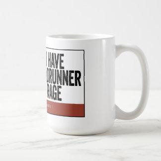 Taza de la rabia del Roadrunner