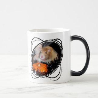 Taza de la rata de Halloween