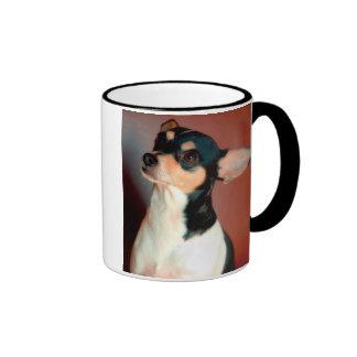 Taza de la raza del perro de Terrier de rata