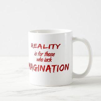 Taza de la realidad/de la imaginación