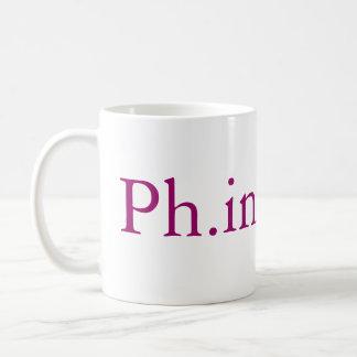 Taza de la realización de Ph inishe D PhD