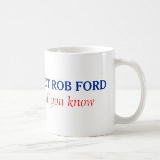 Taza de la reelección de Rob Ford