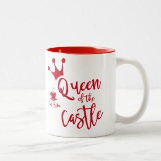 Taza de la reina de Café Boston del Dos-Tono