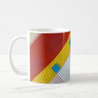Taza de la rejilla de Cubik
