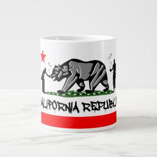 Taza de la república de California Taza Grande