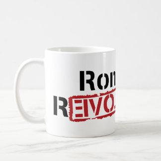 Taza de la revolución de Ron Paul