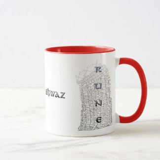Taza de la runa de Ehwaz