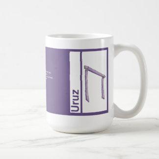 Taza de la runa:: Uruz