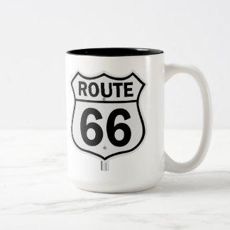 Taza de la ruta 66