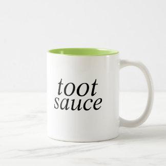 taza de la salsa del toque de bocina
