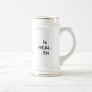 Taza de la salud