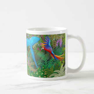 Taza de la selva del Macaw