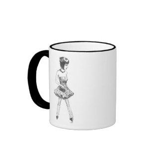 taza de la señora 80s