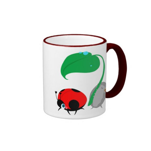 """Taza de la """"señora y del Pillbug"""""""