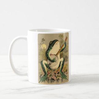 Taza de la serenata de la rana