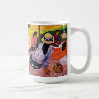 Taza de la siesta de Gauguin